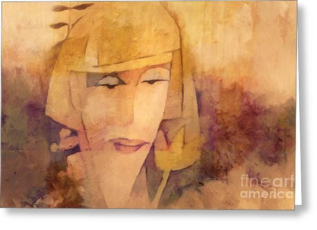 Sensibility Greeting Card by Lutz Baar