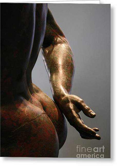 Sensual Sculpture Greeting Card by Mary-Lee Sanders