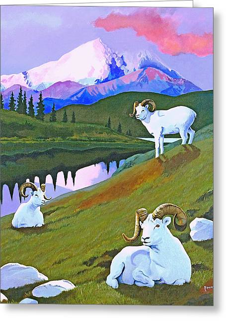 Sentinel Denali Greeting Card