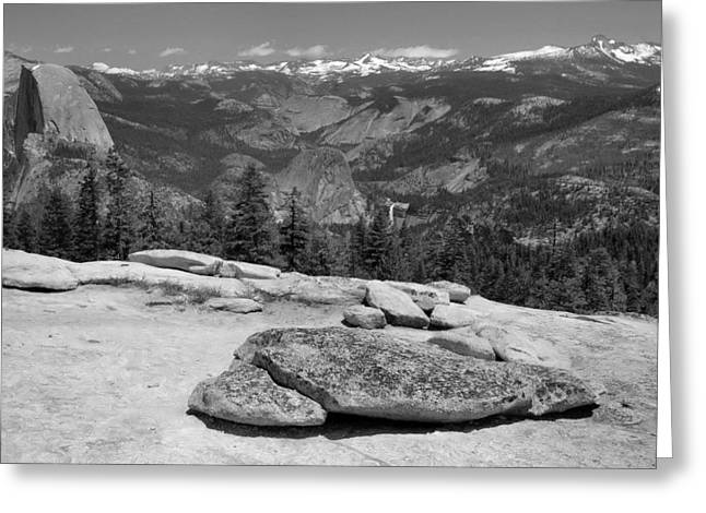 Sentinel Dome Greeting Card by Stephen  Vecchiotti