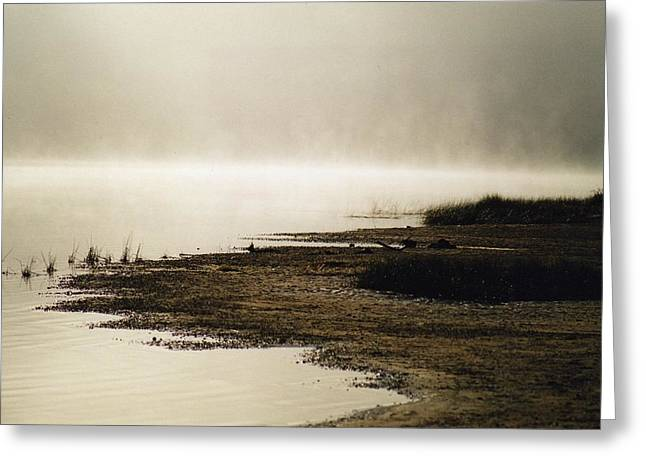 Greeting Card featuring the photograph September Morning by David Porteus