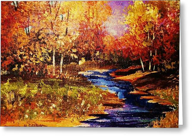 The Brilliance Of Autumn Greeting Card