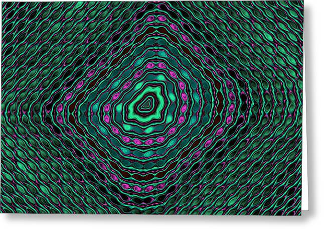 Sequins Greeting Card by Mark Eggleston