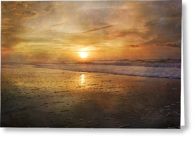 Serene Outlook  Greeting Card by Betsy Knapp