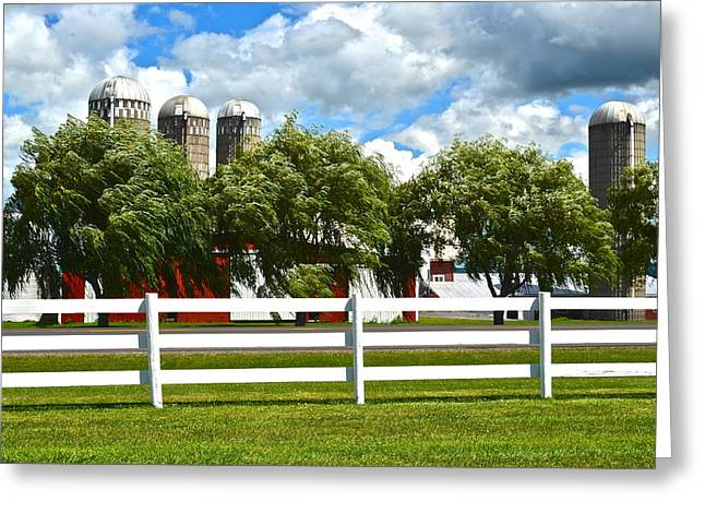 Serene Surroundings Greeting Card by Frozen in Time Fine Art Photography