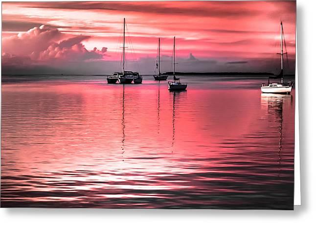 Serenity Bay Dreams Greeting Card