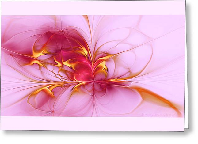 Serenity Greeting Card by Gayle Odsather