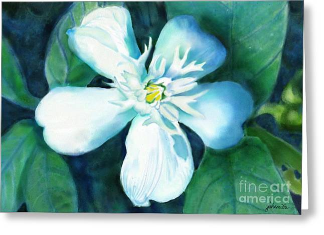 Serenity Greeting Card by Joan A Hamilton