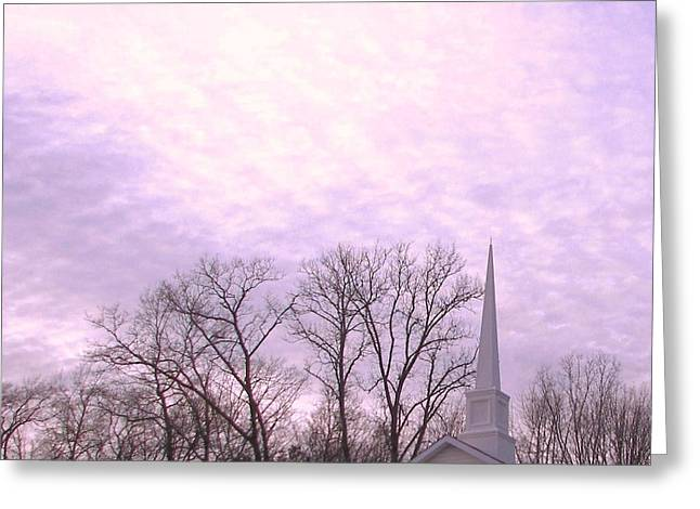 Greeting Card featuring the photograph Serenity by Pamela Hyde Wilson