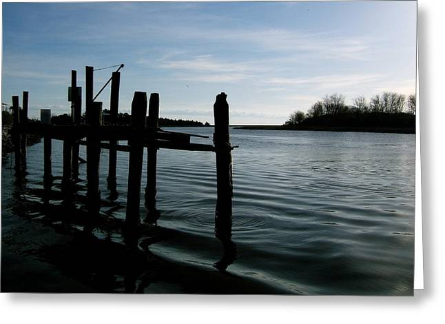 Greeting Card featuring the photograph Serenity by Paul Foutz