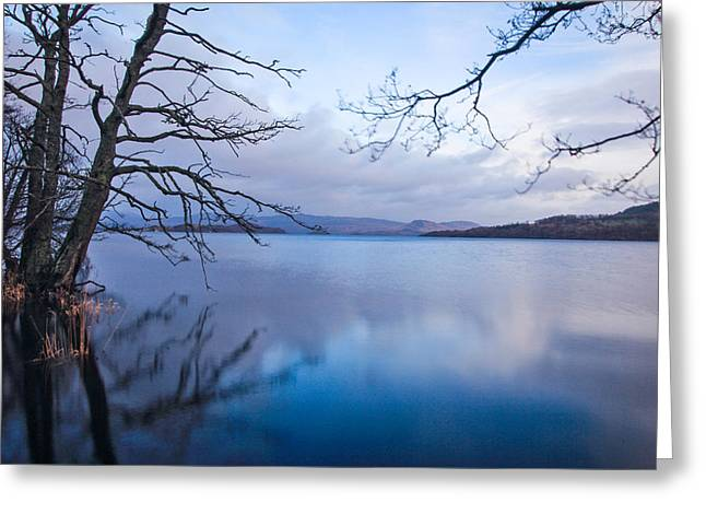 Serenity Greeting Card by Arianna Petrovan