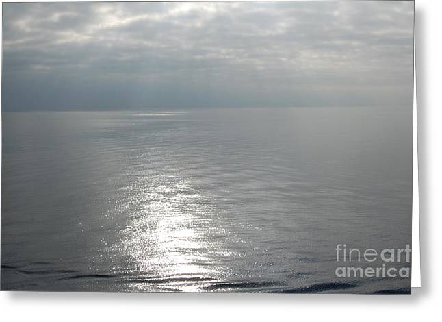 Serenity Sea Greeting Card by Linda Prewer