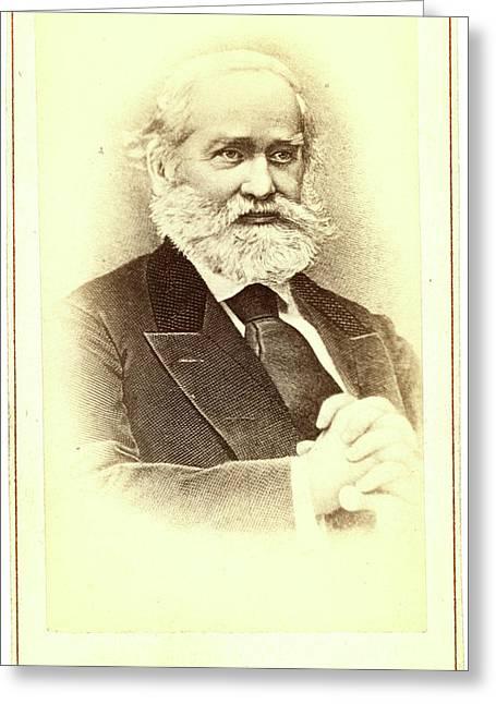 Sergei Mikhailovich Solovev, Half-length Portrait Greeting Card