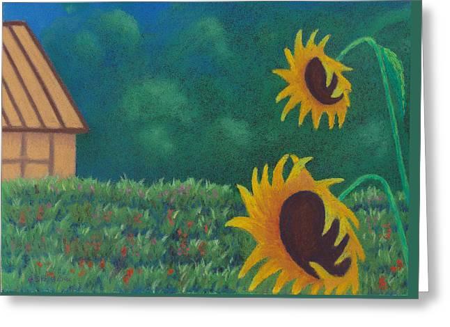 Sergi's Sunflowers Greeting Card