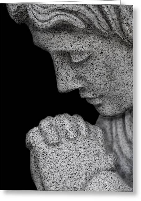 Set In Stone Greeting Card by Mary Burr