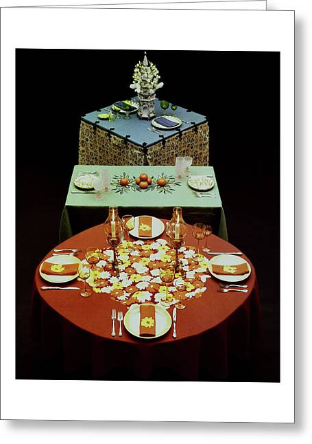 Set Tables Greeting Card
