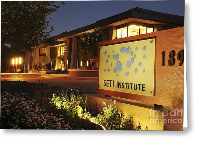 Seti Institute Entrance Greeting Card