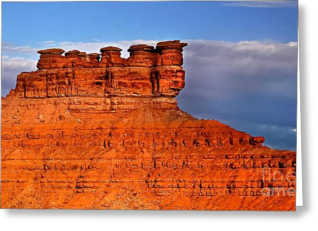 Seven Gods Greeting Card by Robert Bales