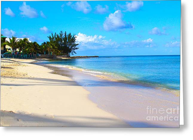 Seven Mile Beach Greeting Card by Carey Chen