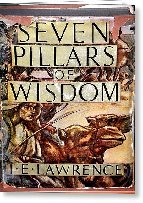 Seven Pillars Of Wisdom Lawrence Greeting Card