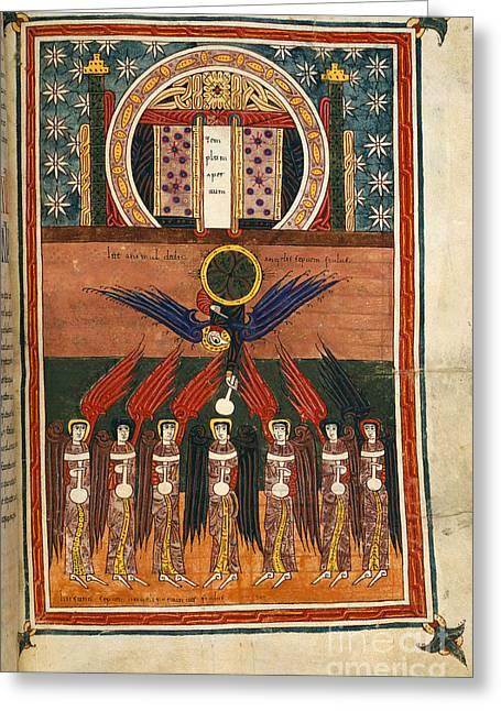 Seven Plague Angels Greeting Card