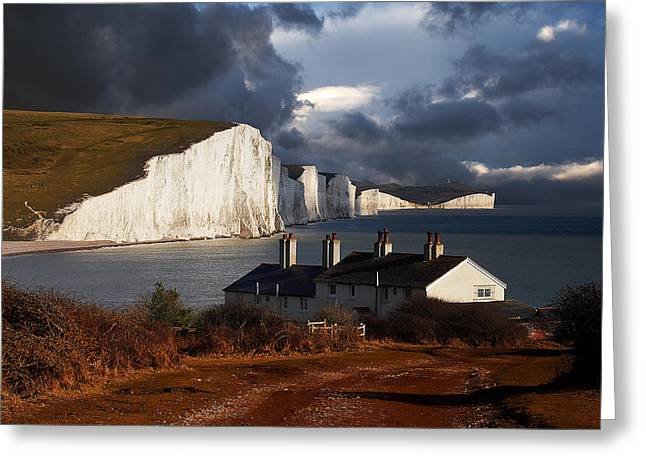 Seven Sisters Greeting Card by Kris Dutson