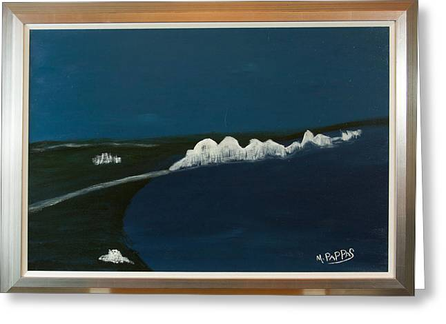 Seven Sisters Greeting Card by Margaret Pappas