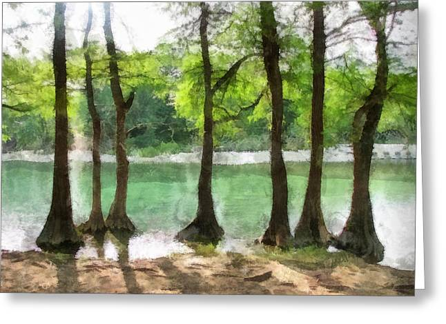 Greeting Card featuring the photograph Seven Sisters by Wendy J St Christopher