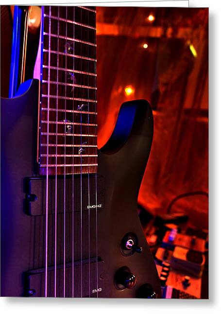 Seven String From Hell  Greeting Card by Dany Lison