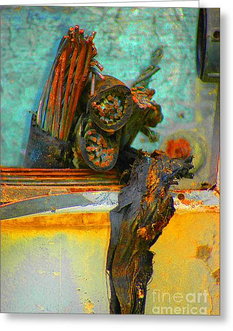 Greeting Card featuring the photograph Severed  by Christiane Hellner-OBrien