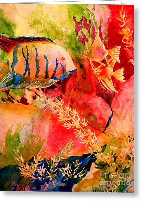 Severums And Angels  Greeting Card