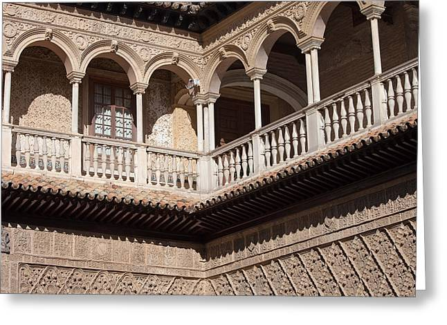 Seville Alcazar Palace Architecture Greeting Card