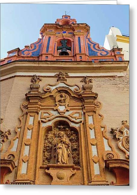 Seville, Spain. Capilla De San Jose Greeting Card
