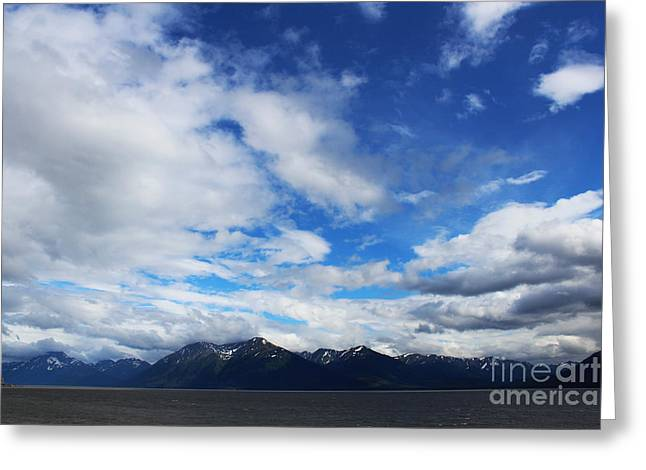 Seward Highway Greeting Card