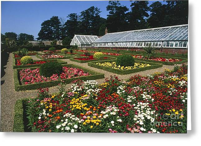 Sewerby Gardens Greeting Card by Michael R Chandler