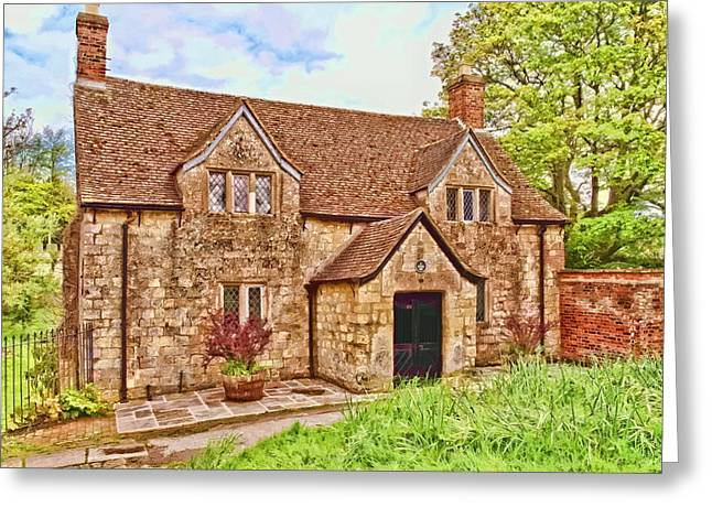 Sextons Cottage Devizes Greeting Card