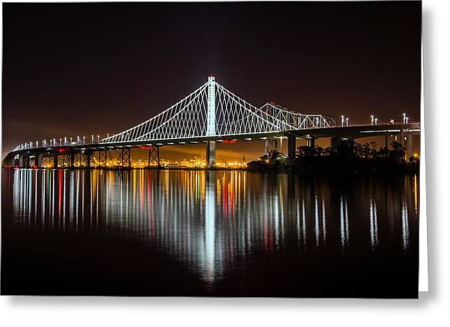 Sf Bay Bridge Greeting Card