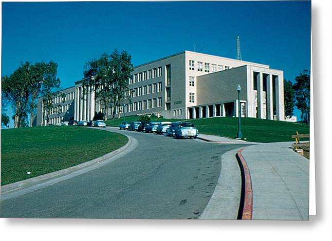 Sf City College 1956 Greeting Card by Cumberland Warden