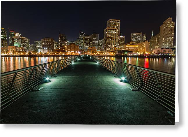 Sf Pier 14 Greeting Card