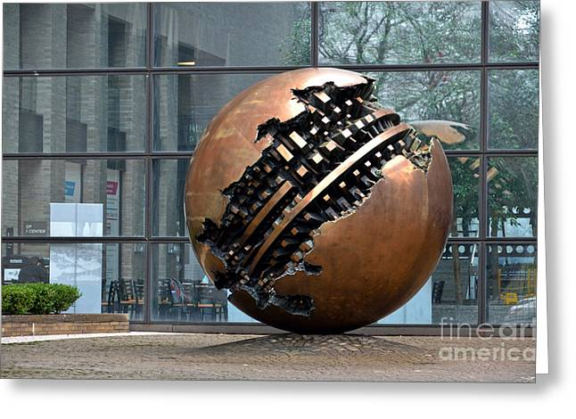 Sfera Grande In Mount Sinai Hospital Greeting Card by RicardMN Photography