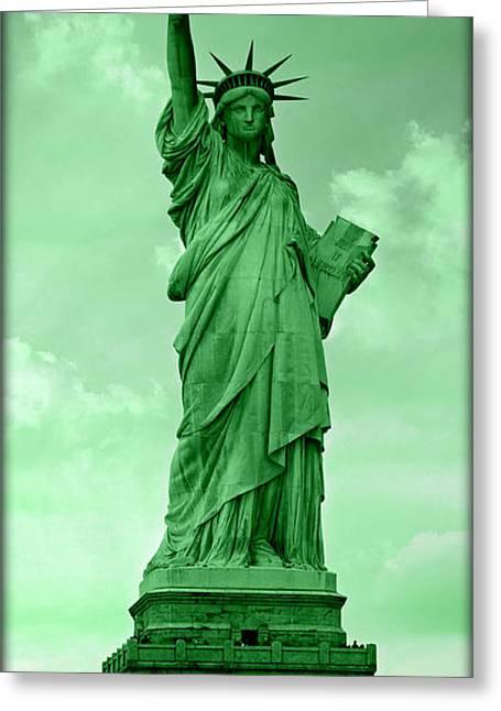 Shades Of Liberty No 4 Greeting Card
