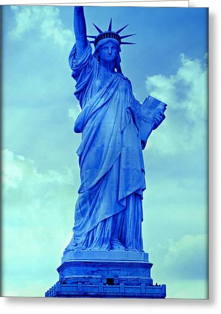 Shades Of Liberty No 5 Greeting Card