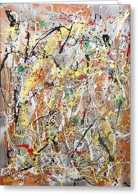 Pollock Greeting Card