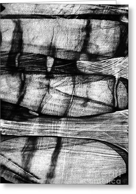 Shadow Of The Glass Object Greeting Card by Elena Lir-Rachkovskaya