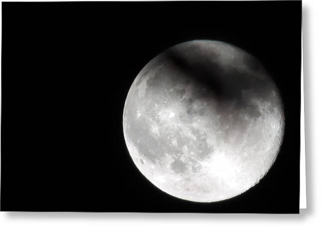Shadow On The Moon Greeting Card