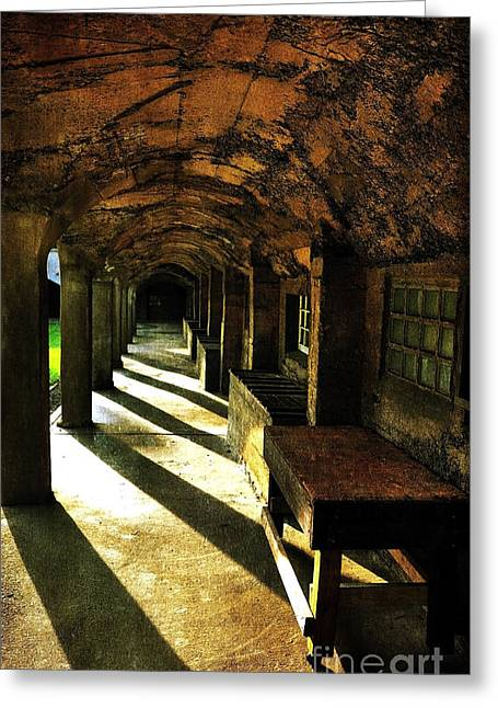 Shadows And Arches I Greeting Card