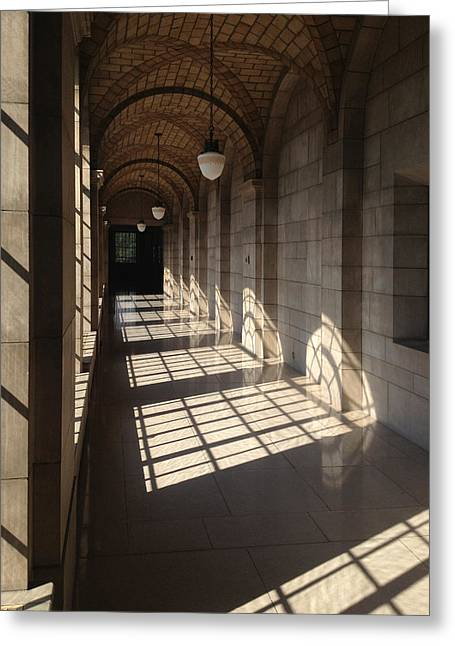 Shadows And Stone Greeting Card
