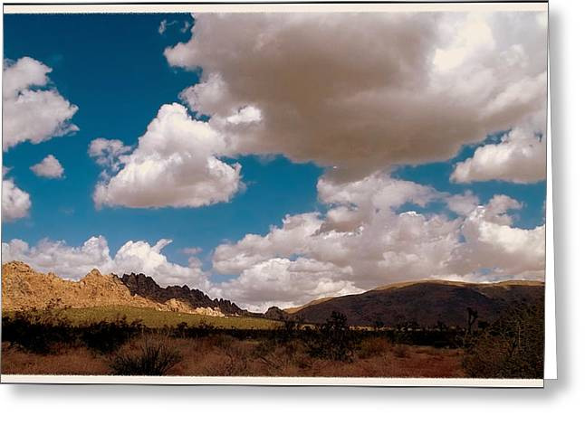 Shadows In The Valley Greeting Card