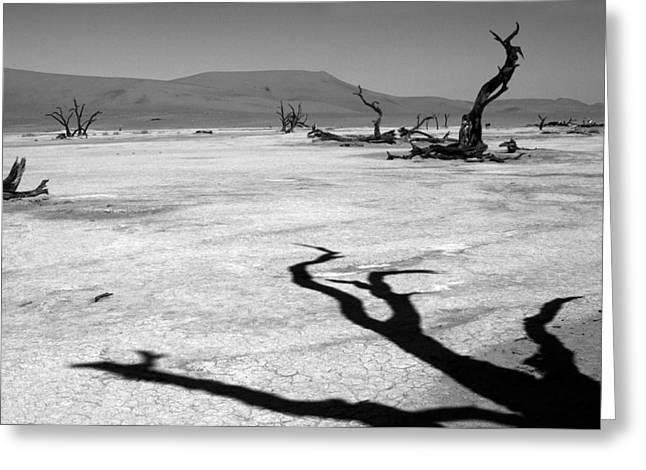 Shadows Of The Past  Greeting Card by Aidan Moran