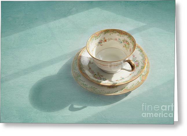 Shadows Of The Past Greeting Card by Kay Pickens